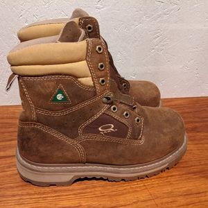 Dakota Quad Comfort Steel Toe Boots